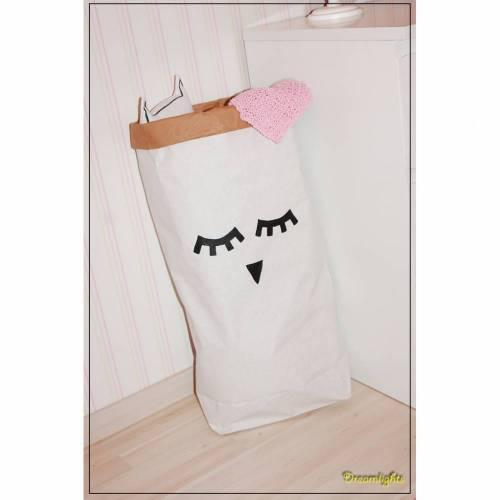 """Paperbag """"Sweety"""" Aufbewahrungstüte Papiertüte Kinderzimmer"""