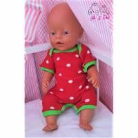 Freebook Strampler Sommer-Pepino Puppen Bild 1