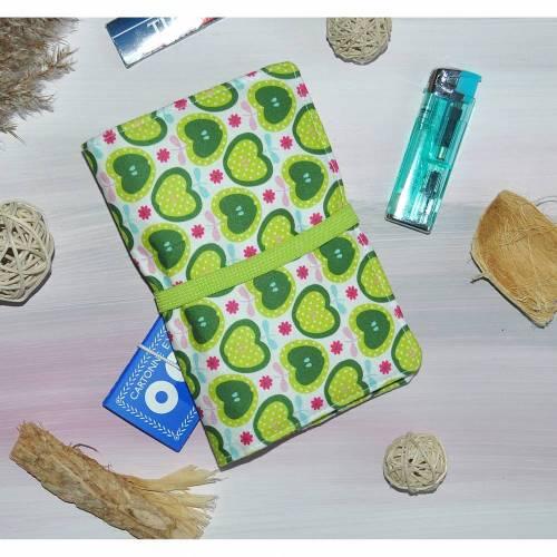 Tabaktasche - Tasche für Rauchzubehör - Zubehör für Raucher - Apfelmuster