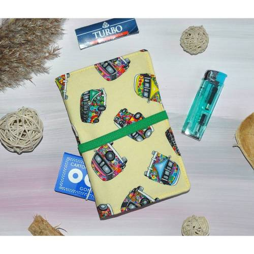 Tabaktasche - Tasche für Rauchzubehör - Zubehör für Raucher
