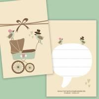 10 Geschenkanhänger Baby /// 15% SALE Bild 1
