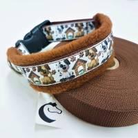 """Hundehalsband """"Hundi"""" ~ Größe 40-45 cm * verstellbar. Halsbandmanufaktur Cavalletti-4Dogs Bild 1"""