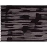 13,90EUR/m Viskosejersey Marcel mit Streifen schwarz Bild 1