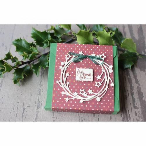 Weihnachtliche Geschenkverpackung - Geldgeschenk - Gutschein