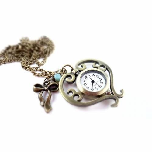Kettenuhr, Uhr, Damenuhr, Herz