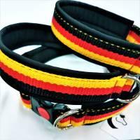 "Hundehalsband ""National"" ~ ab Größe 45-50 cm * verstellbar. Halsbandmanufaktur Cavalletti-4Dogs Bild 1"