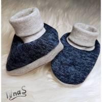 Baby Schuhe Boots Booties Socken für Alter von 0-6 Monate Bild 1