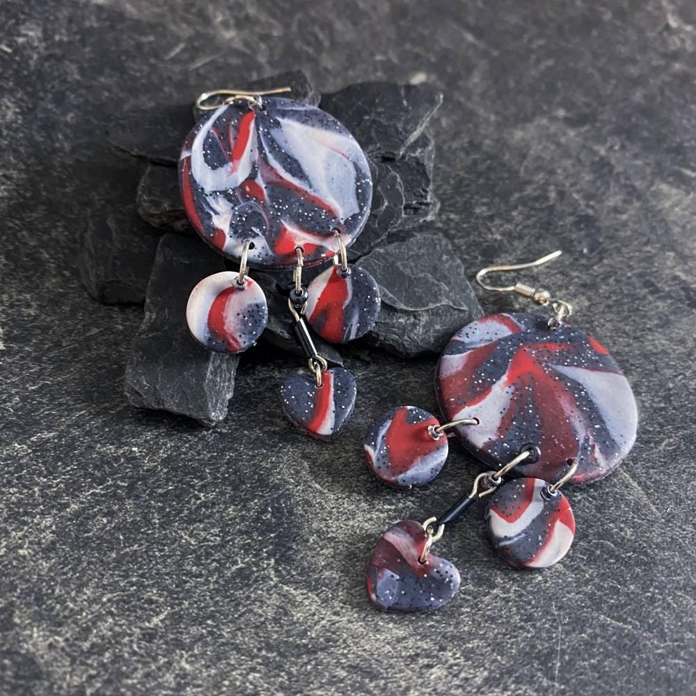 Hirowe - Weihnachtliches Ohrringe Paar Bild 1