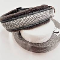 "Hundehalsband ""Merlin"" ~ Länge 45-50 cm * verstellbar. Halsbandmanufaktur Cavalletti-4Dogs Bild 1"