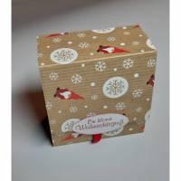 """Teebeutelbuch"""" Ein kleiner Weihnachtsgruß"""" Bild 1"""