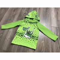 """süßes Kapuzenshirt in Gr. 104  """"Drache"""" Bild 1"""