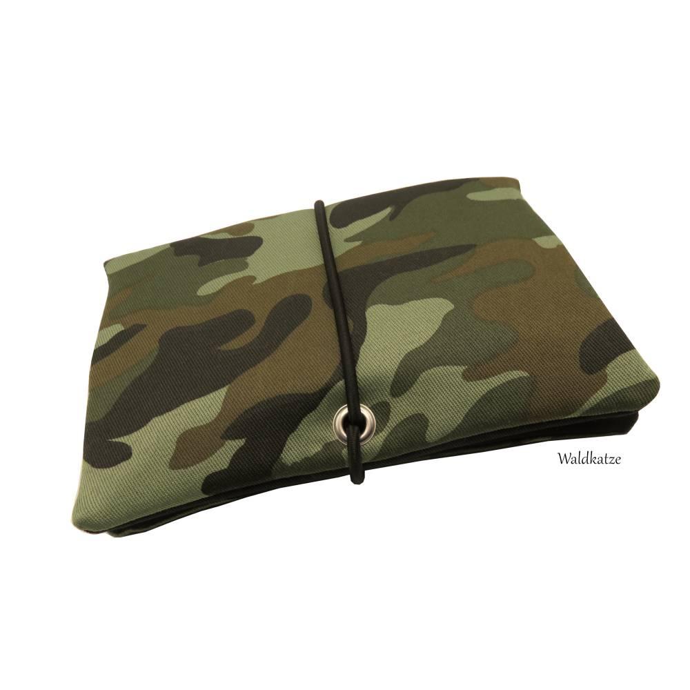 Tabaktasche/ Tabakbeutel/ Drehertasche * Camouflage * Bild 1
