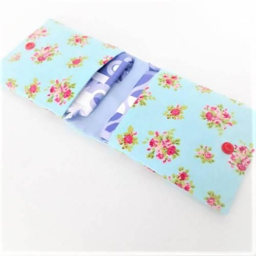 Bindentasche, genähtes Etui für Damenbinden, Tasche für Damenhygiene, Hygienetasche