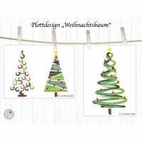 Plotterdatei Weihnachtsbaum Bild 2