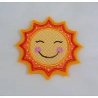 Lachende Sonne, Applikation Bild 1