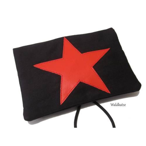 Tabaktasche/ Tabakbeutel/ Drehertasche * Red Star *