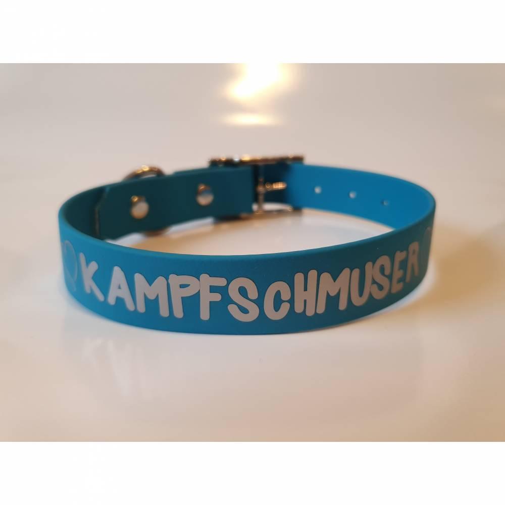 """Biothane Halsband """"Kampfschmuser"""" Bild 1"""