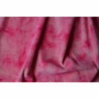 kuschelweicher Webpelz pink rosa Batik 50 cm x 150 cm Farbverlauf Bild 1