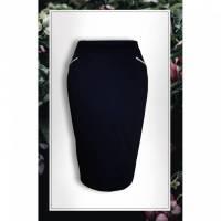 Taillenhoher Pencilskirt 'Blue Lotte' Gr.36 Bild 1