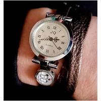 Armbanduhr,Wickeluhr,gemeinsam*,weiches Kunstleder,Uhr Bild 1