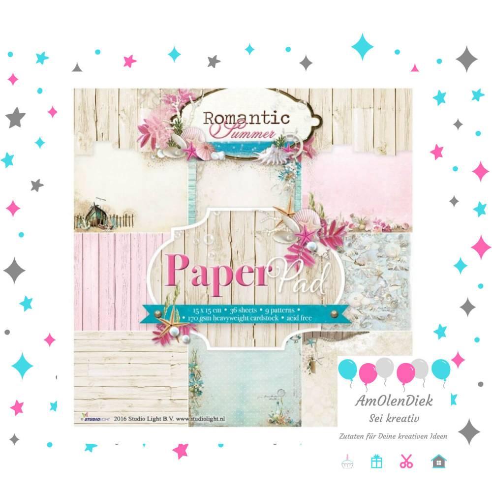 Designpapier Romantic Summer  Bild 1
