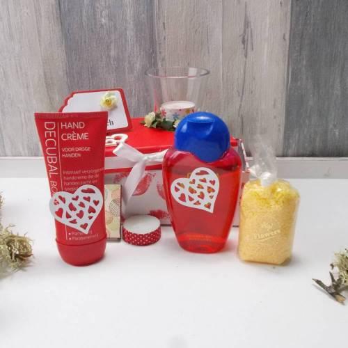 Wellness Geschenk in Geschenkbox, Valentinstag, Muttertag, Wellness Set, 2