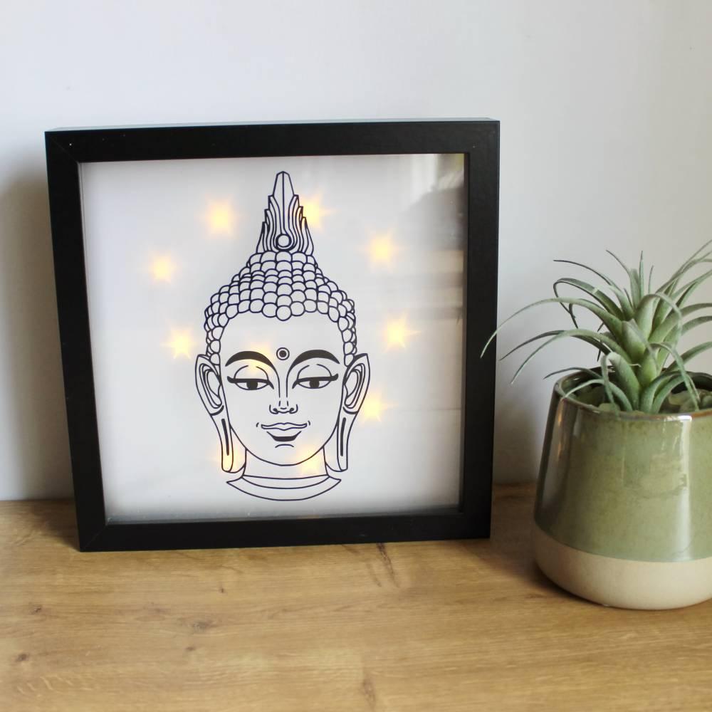 """Leuchtbild, Lichtbild """"Buddha"""" aus der Manufaktur Karla Bild 1"""