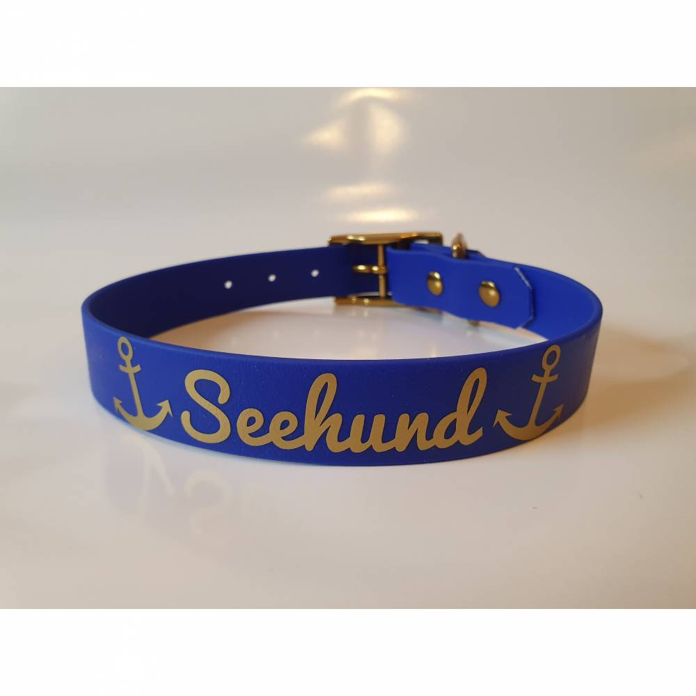 "Biothane Halsband ""Seehund"" Bild 1"