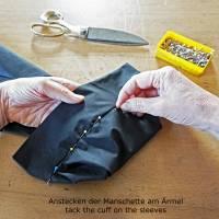 MÄNNER-HEMD mit Haifischkragen und Taschen Bild 9