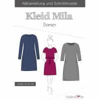 Fadenkäfer-Schnittmuster Kleid Mila Damen  Bild 1