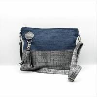 """"""" Odina """" - eine besondere Handtasche mit tollen Materialmix Bild 1"""