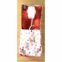 Handyladetasche und Kabeltasche in einem, Orange  Pfoten Bild 1