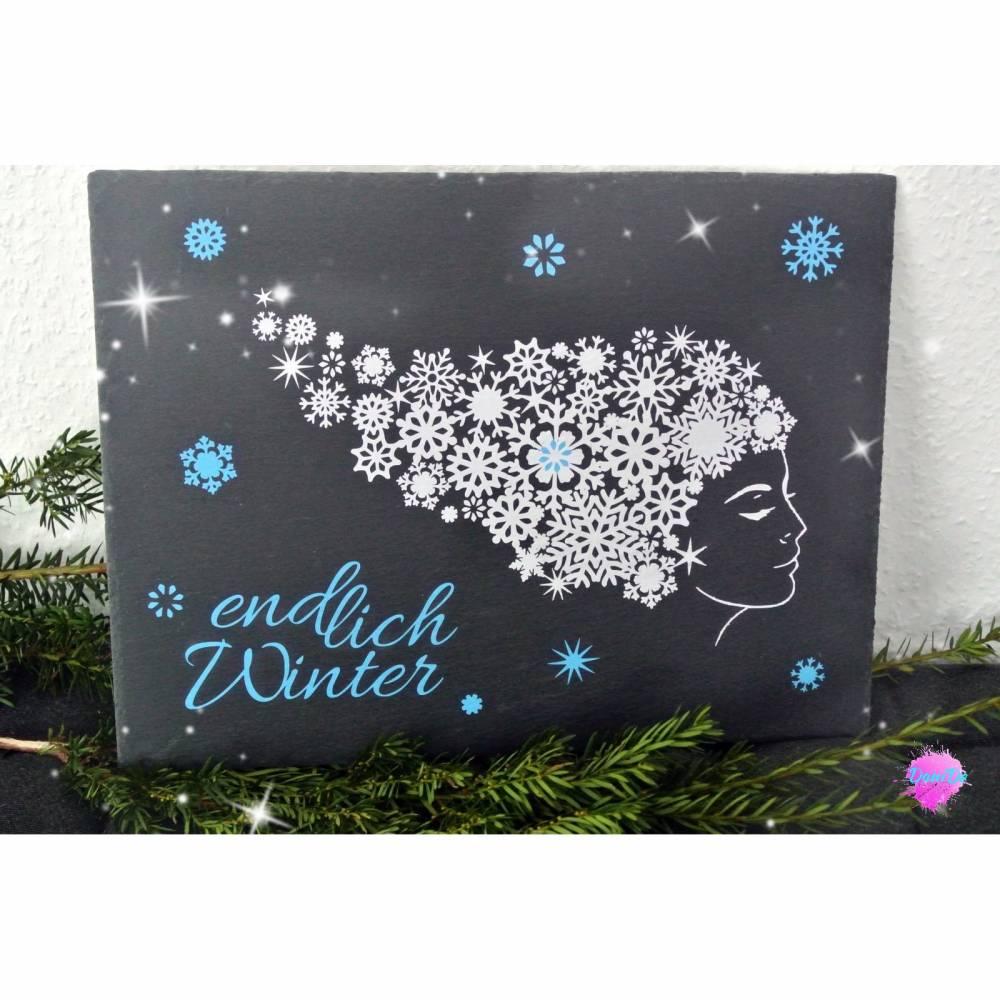 "Plottdatei ""Winterlady"" Bild 1"