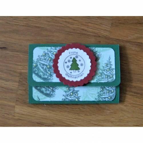 Geldgeschenke Verpackung Geldgeschenk Gutschein Weihnachten Geschenkkarte