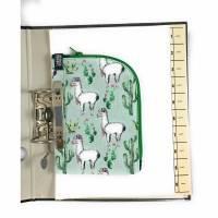 Ordnermäppchen, Grün Lamas, abheftbar Bild 1