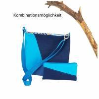 """"""" Tabby"""" ein geräumiges Portemonnaie in Türkis/Blau Bild 8"""