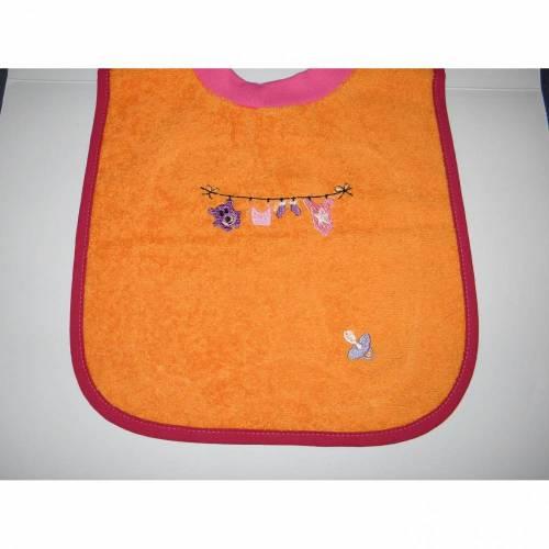 Lätzchen, Schlupflätzchen, Latz, Babylatz, bestickt, Wäscheleine mit Name, personalisiert, Riesenschlupflatz