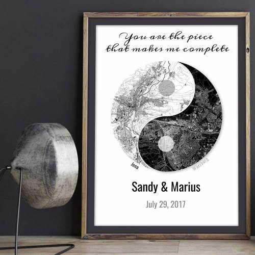 You makes me complete! - Digitaldruck