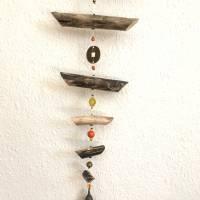 Treibholz Windspiel wahlweise mit Feng shui Glocke oder Feng shui Kristall Bild 4