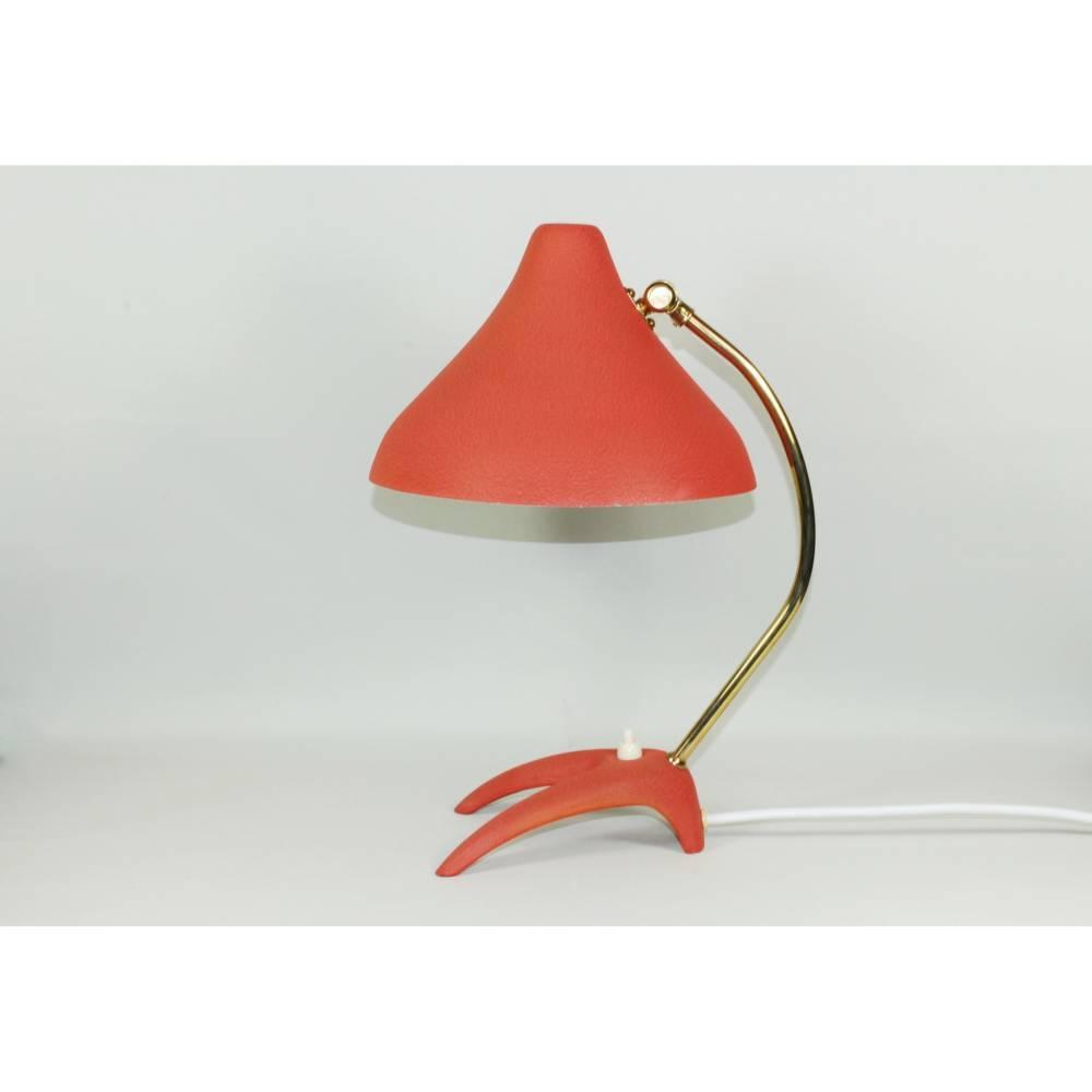 50er Jahre Krähenfuß Tischlampe  Bild 1
