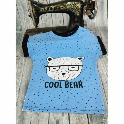 Tshirt Cool Bear Gr. 110/116