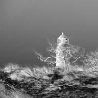 Leuchtturm Darßer Ort Fotografie Kunstdruck Hahnemühle FineArt Baryta Bild 1