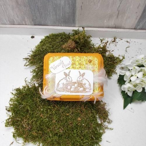 Ostergeschenk, kleines Mitbringsel, Ostern, Osternest, orange 1