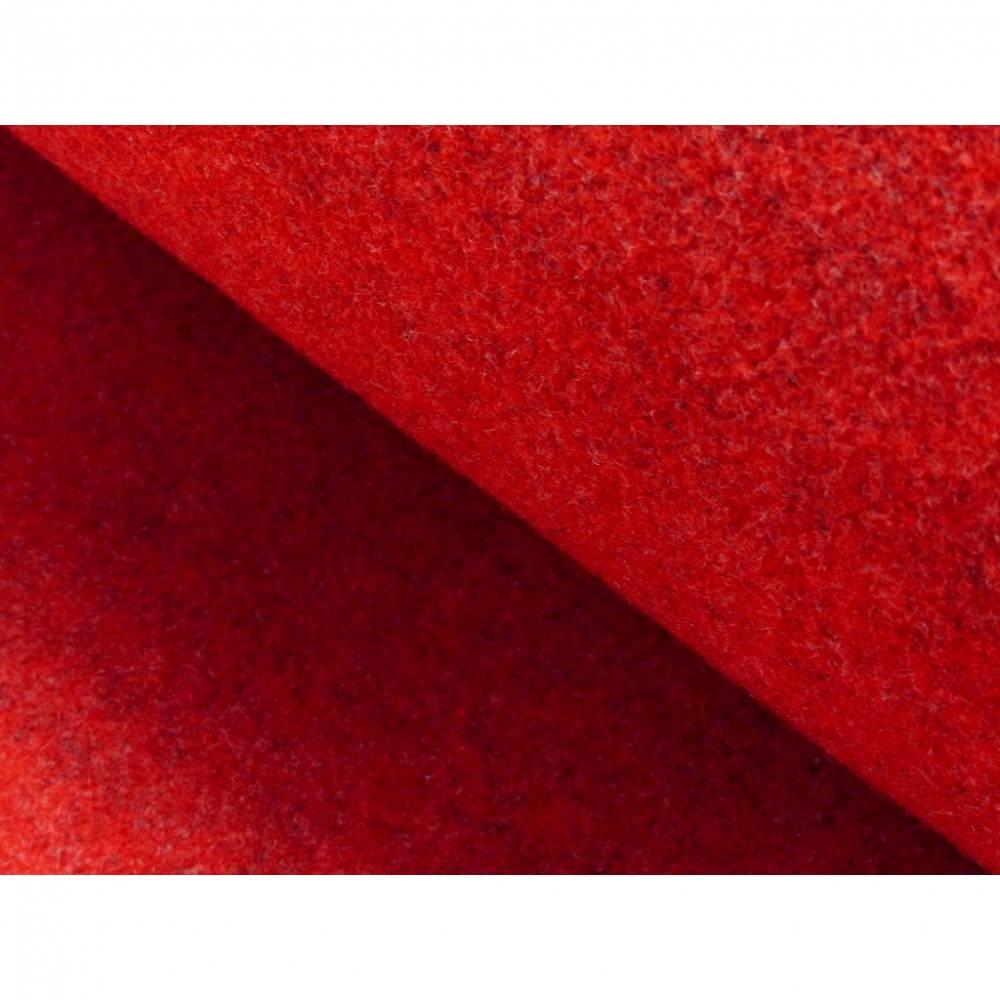 Wollfilz 3 mm * rot * 0,5 m  Bild 1