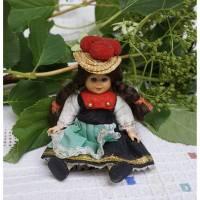 Trachtenpuppe, Schwarzwald, für Sammler, ca. 11 cm, Vintage, Puppe, Andenken Bild 1