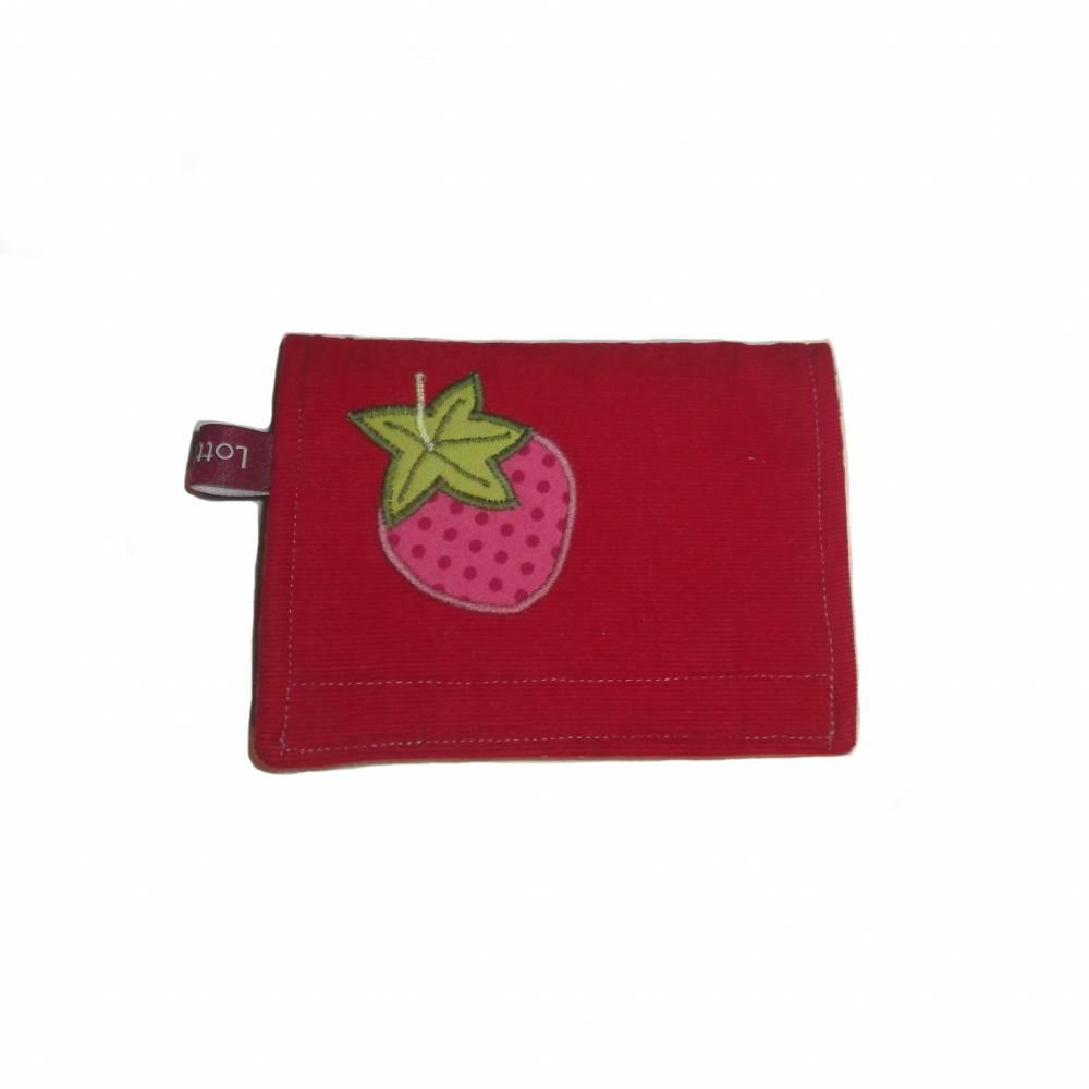 Geldbörse Erdbeere für Mädchen Bild 1