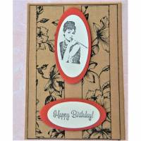 1 Glückwunschkarte zum Geburtstag Karte Geburtstagskarte Glückwunschkarte Bild 1