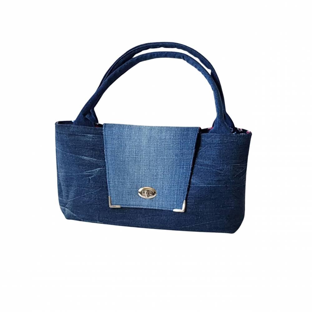 """"""" Bella """" - eine einzigartige Handtasche , Jeanstasche Bild 1"""