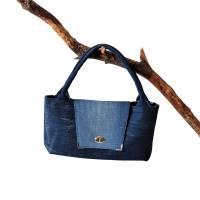 """"""" Bella """" - eine einzigartige Handtasche , Jeanstasche Bild 3"""