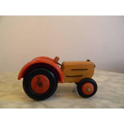 VINTAGE *** alter Holz - Traktor ***